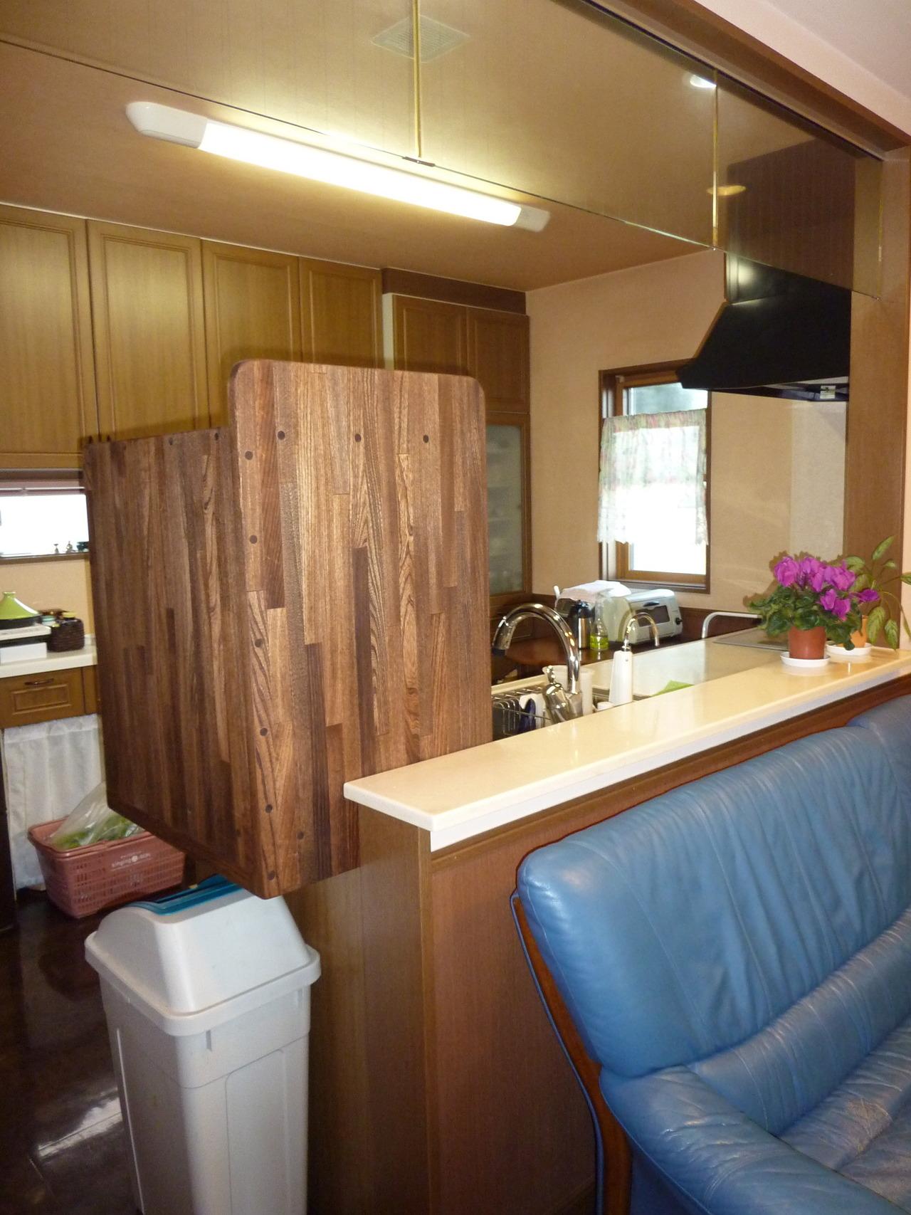 キッチンリフォーム - 栃木県:食洗器を設置 対面式キッチンの ...
